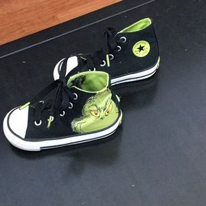 Grinch Dr. Seuss Glow in Dark Converse